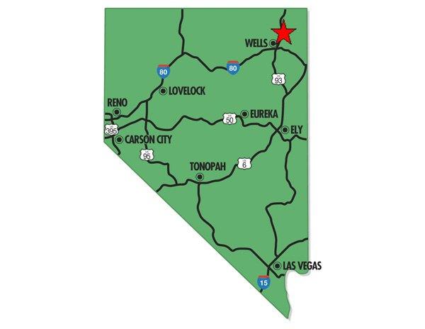 95003: 3. ELKO/WELLS AREA (ELKO CO., NV) 10 acres.