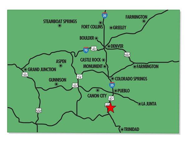 95004: 4. COLORADO CITY (PUEBLO CO., CO) 11,210 square