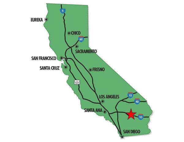 95013: 13. LAKE ELSINORE AREA (RIVERSIDE CO., CA) 4,792