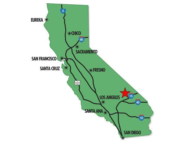 95019: 19. RUNNING SPRINGS AREA (SAN BERNARDINO CO., CA