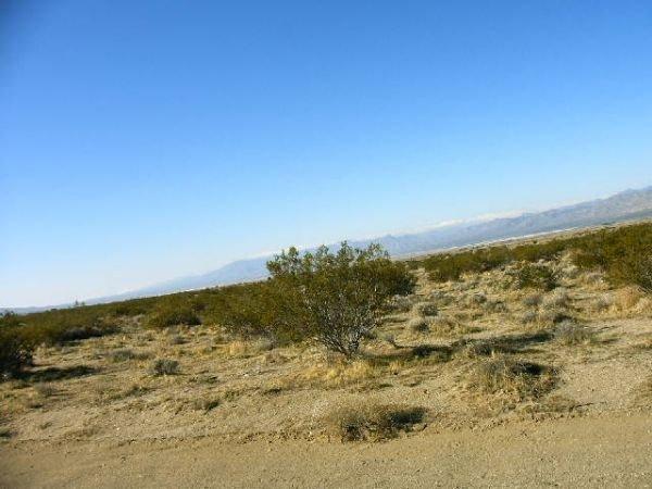 2. CALIFORNIA CITY AREA (KERN CO., CA) 2.5 acres.