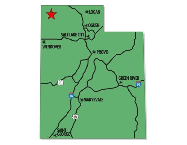 18. LUCIN AREA (BOX ELDER CO., UT) 10 acres.