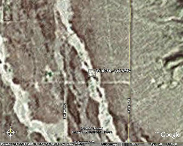 97008: 8. PALMDALE AREA (LOS ANGELES CO., CA) 2 acres.
