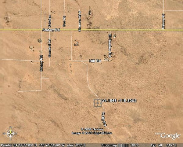 97165: 165. TWENTYNINE PALMS AREA (SAN BERNARDINO CO.,