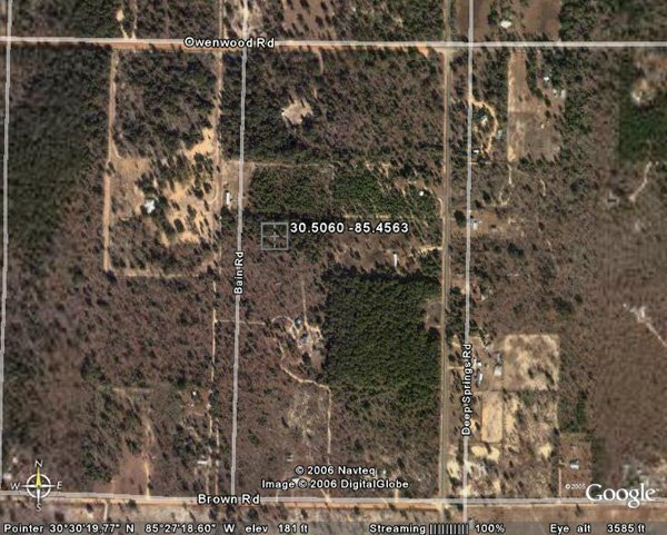 98002: 2. FOUNTAIN AREA (BAY CO., FL) 1 lot.