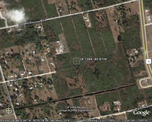 98011: 11. AURANTIA AREA (BREVARD CO., FL) 9,580 square