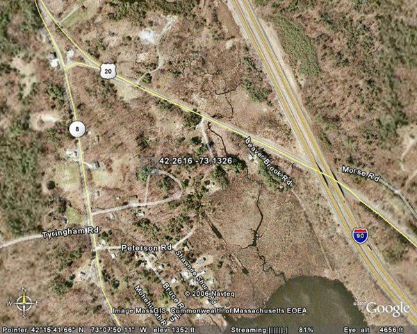98012: 12. TOWN OF BECKET (BERKSHIRE CO., MA) 13,900 sq