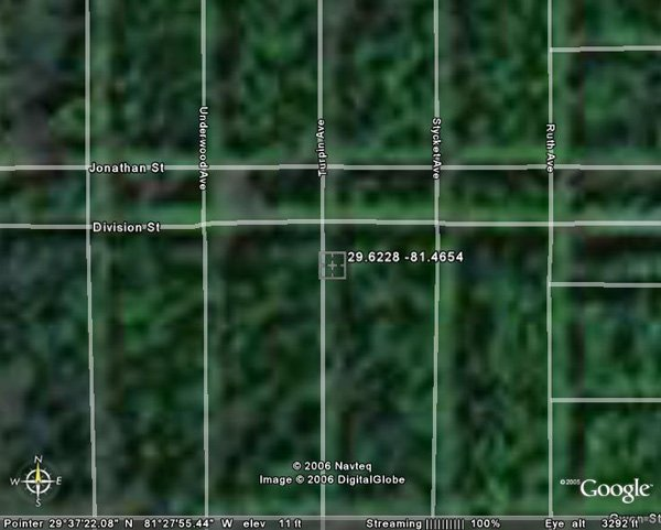 98018: 18. ROY AREA (FLAGLER CO., FL) 1 lot.