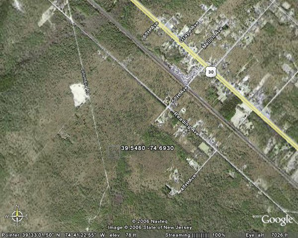 98151: 151. TOWNSHIP OF MULLICA (ATLANTIC CO., NJ) 2 ac