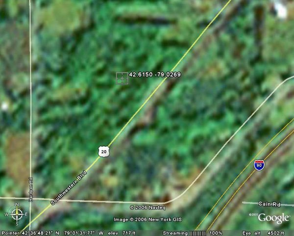 98157: 157. TOWN OF EVANS (ERIE CO., NY) 5 acres.
