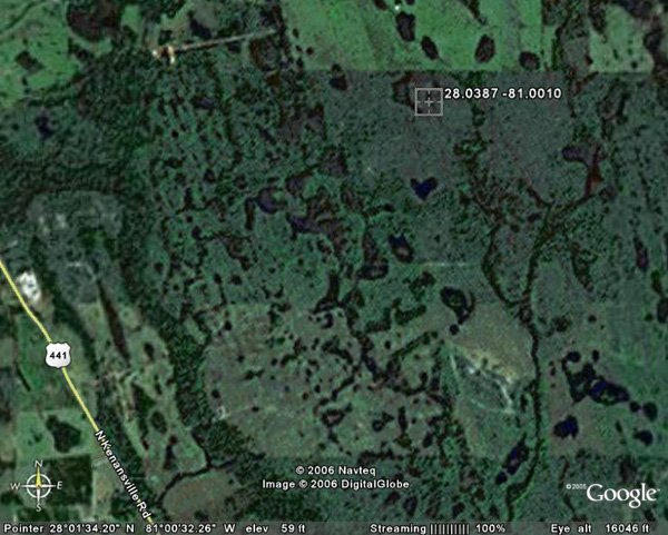 98159: 159. LAKE HATCHINEHA AREA (OSCEOLA CO., FL) 2.5