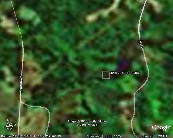 7. THORSBY AREA (CHILTON CO., AL) 10.8 acres.
