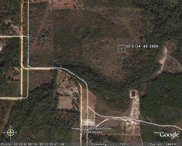 8. FOUNTAIN AREA (BAY CO., FL) 1.6 acres.