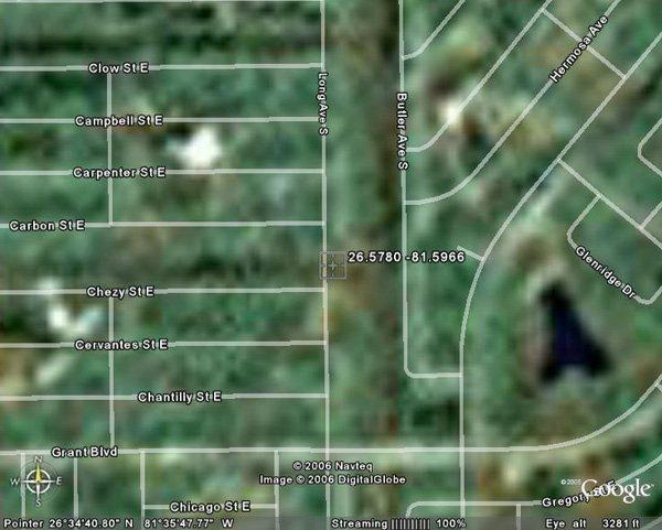 10. LEHIGH ACRES AREA (LEE CO., FL) 5,800 square feet.