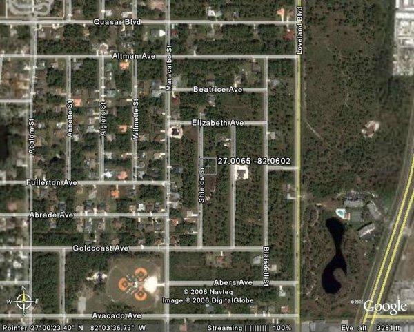 14. PORT CHARLOTTE AREA (CHARLOTTE CO., FL) 1 lot.