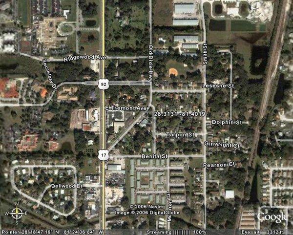 24. KISSIMMEE AREA (OSCEOLA CO., FL) 4,400 square feet.