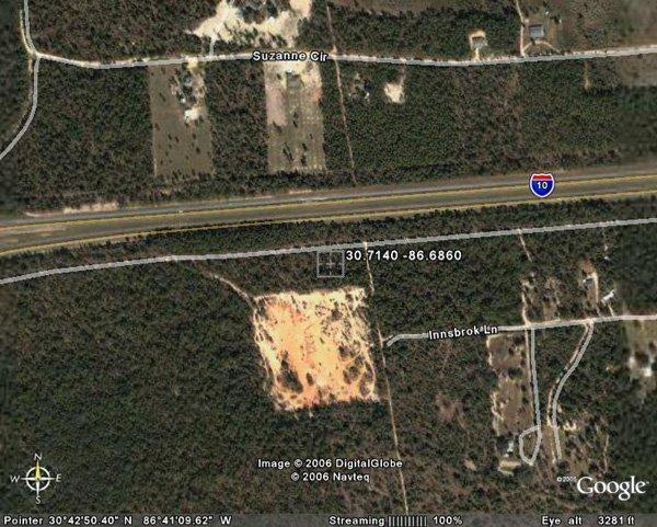 41. CRESTVIEW AREA (OKALOOSA CO., FL) 27 acres.