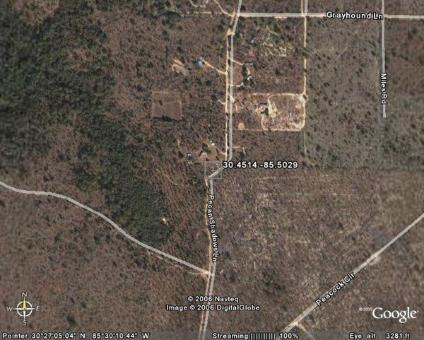 147. CRYSTAL LAKE AREA (WASHINGTON CO., FL) 1 acre.