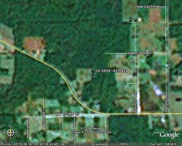 152. LAWTEY AREA (BRADFORD CO., FL) 1.6 acres.