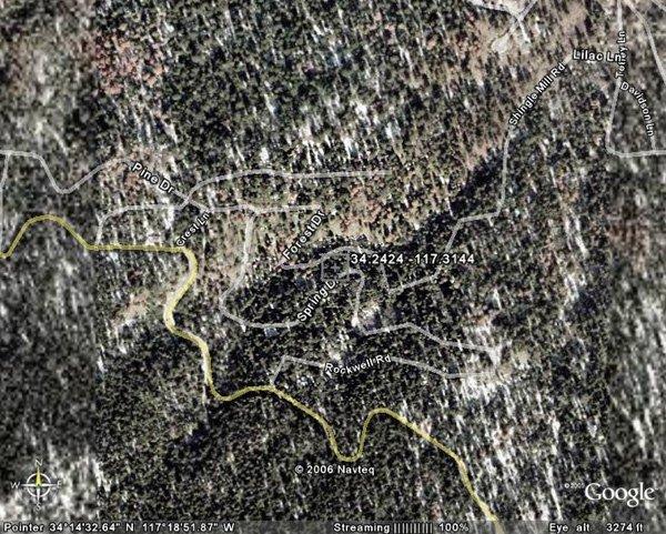 100010: 10. CRESTLINE AREA (SAN BERNARDINO CO., CA) 80'