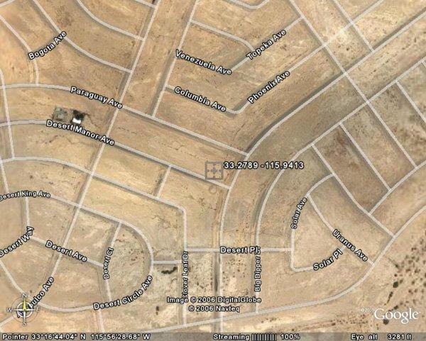 100133: 133. SALTON CITY AREA (IMPERIAL CO., CA) 92' x