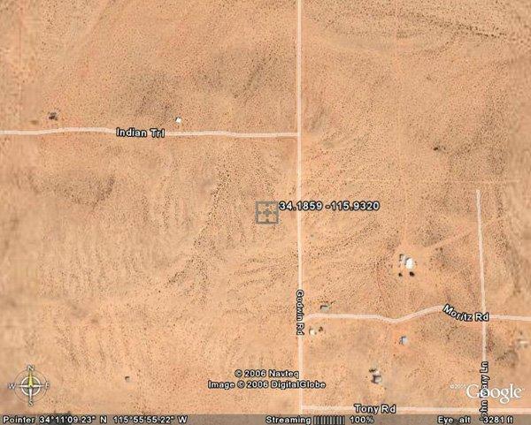 100139: 139. TWENTYNINE PALMS AREA (SAN BERNARDINO CO.,