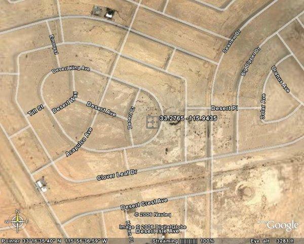 100153: 153. SALTON CITY AREA (IMPERIAL CO., CA) 1 lot.