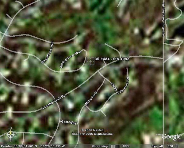 100176: 176. TEHACHAPI AREA (KERN CO., CA) 1 lot.