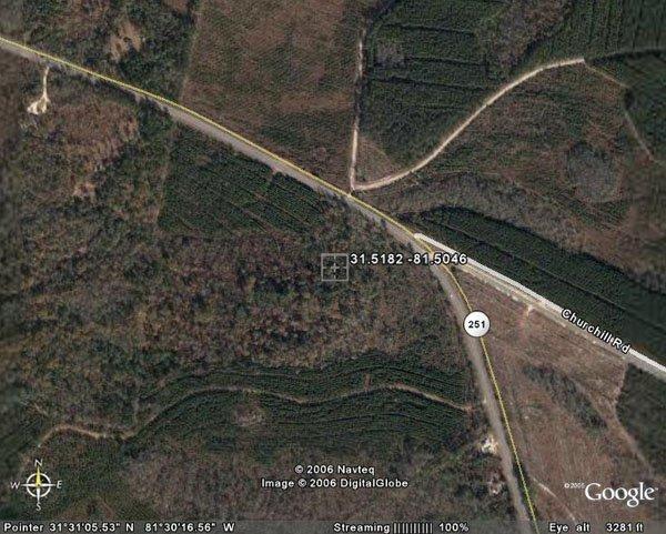 139. TOWNSEND AREA (MC INTOSH CO., GA) 3.7 acres.