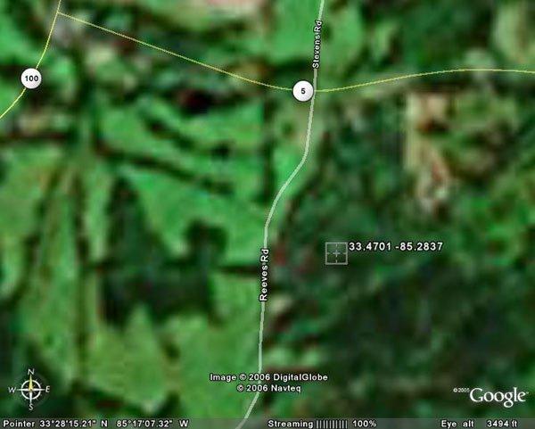 7. BOWDON AREA (CARROLL CO., GA) 1 acre.