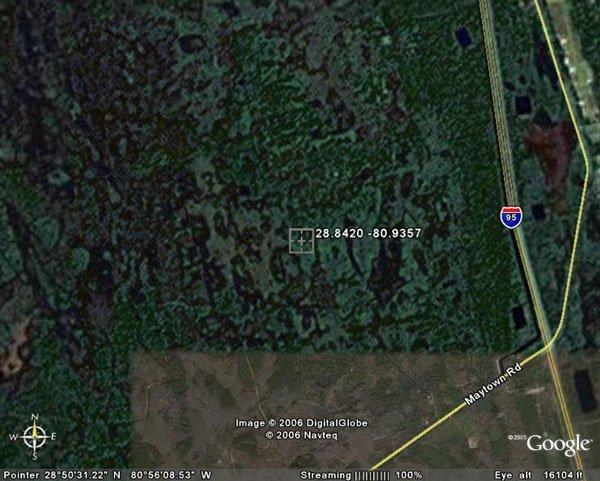 10. OAK HILL AREA (VOLUSIA CO., FL) 2.5 acres.