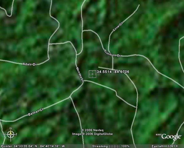 15. RANGER AREA (GORDON CO., GA) 3.1 acres.