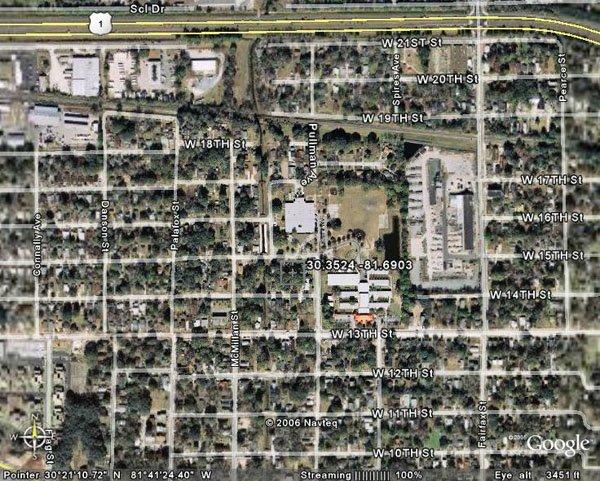 18. CITY OF JACKSONVILLE (DUVAL CO., FL) 50' x 100'.