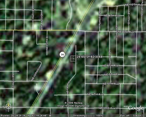 24. CITY OF GAINESVILLE (ALACHUA CO., FL) 50' x 100'.