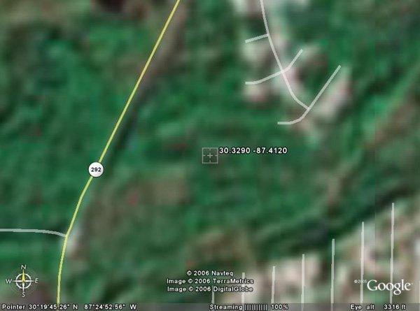 102153: 153. CHIPLEY AREA (ESCAMBIA CO., FL) 9,600 squa