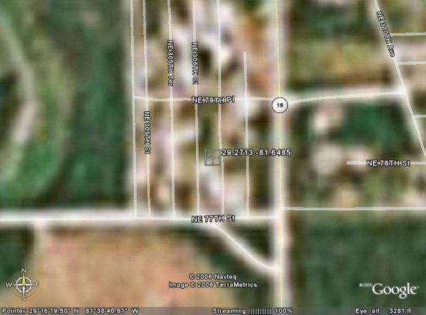 102154: 154. LAKE GEORGE AREA (MARION CO., FL) 5,600 sq
