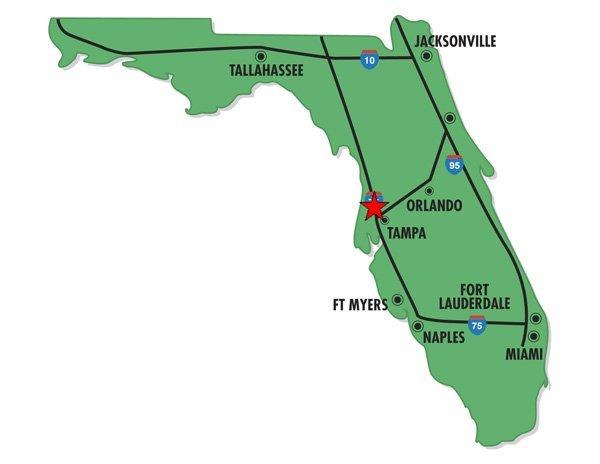 102229: 229. TAMPA DOWNS RANCHETTES (PASCO CO., FL) 1 l - 2