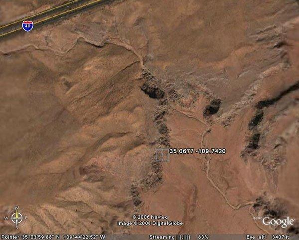 6. PETRIFIED FOREST AREA (APACHE CO., AZ) 40 acres.