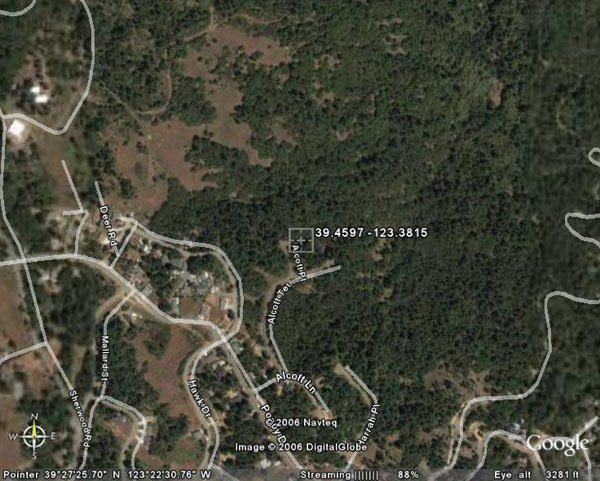 137. WILLITS AREA (MENDOCINO CO., CA) 1 lot.