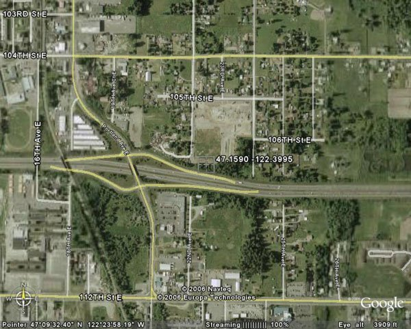 105157: 157. MIDLAND AREA (PIERCE CO., WA) 7,500 square