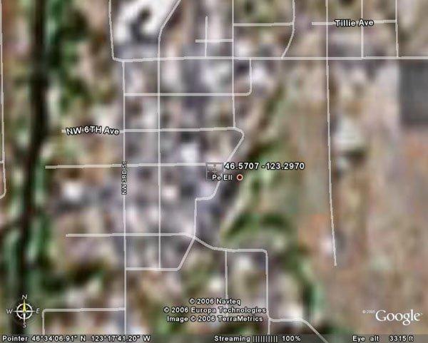 105158: 158. PE ELL AREA (LEWIS CO., WA) 3,920 square f