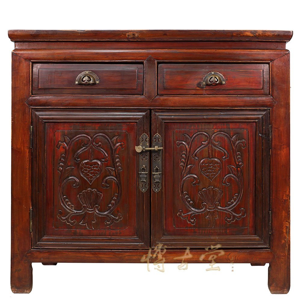 Chinese Antique Carved Shan Xi Cabinet/Chest 26P03