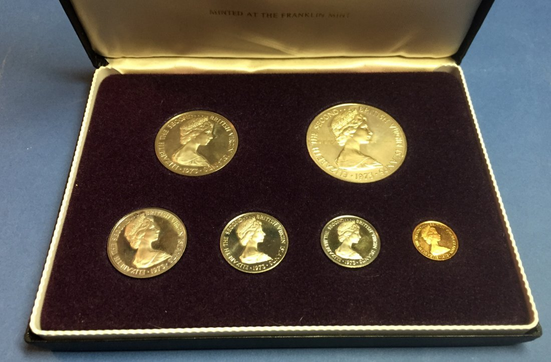First Coinage of the British Virgin Islands Proof Set