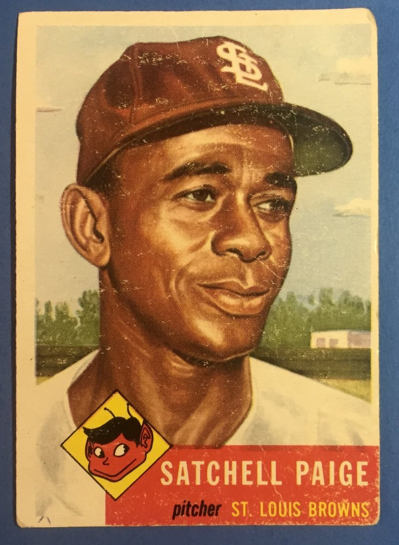Satchell Paige Topps 220 Vintage Baseball Card