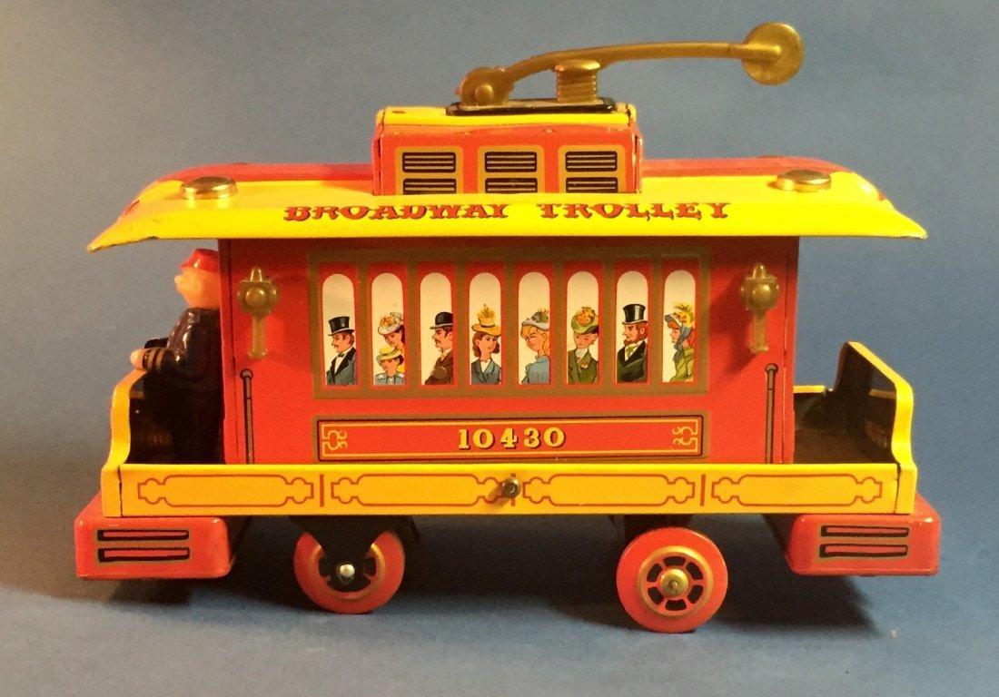 Broadway Trolley by Modern Toy c. 1960s