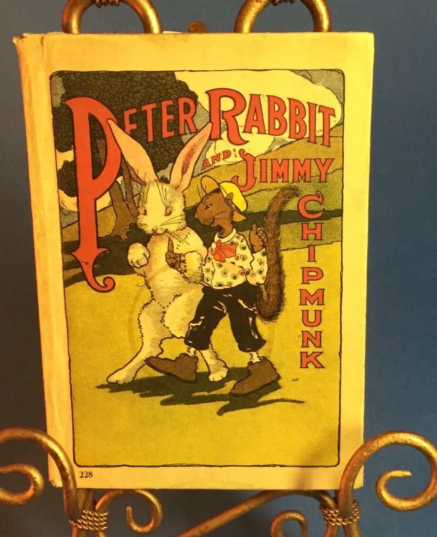 Peter Rabbit & Jimmy the Chipmunk Book 1918