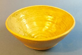 Antique Thai Sawankhalok Celadon Bowl C. 14th Century