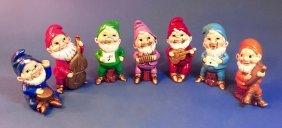 Vintage Seven Dwarfs Made In Japan