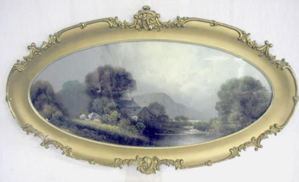 2020: 19th C. Dow signed pastel