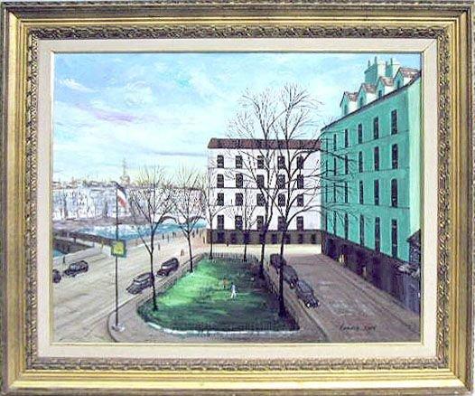 2021: Ludwig Kohn oil on canvas